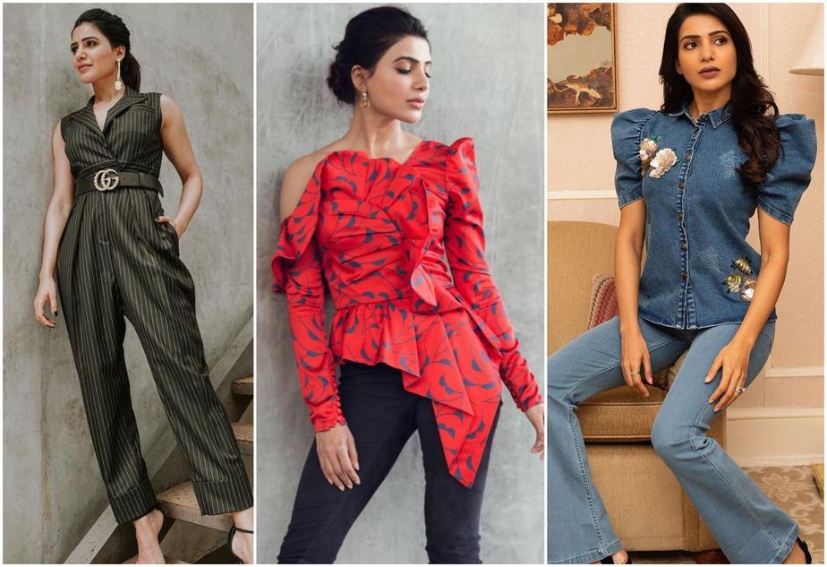 Samantha Akkineni's Fashion Quotient
