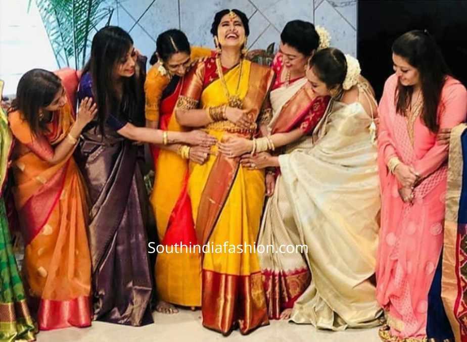 actress sneha prasanna seemantham photos 2019