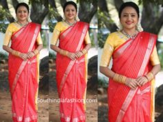 anchor suma pattu saree