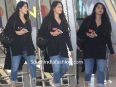 anushka shetty snapped at hyderabad airport (1)