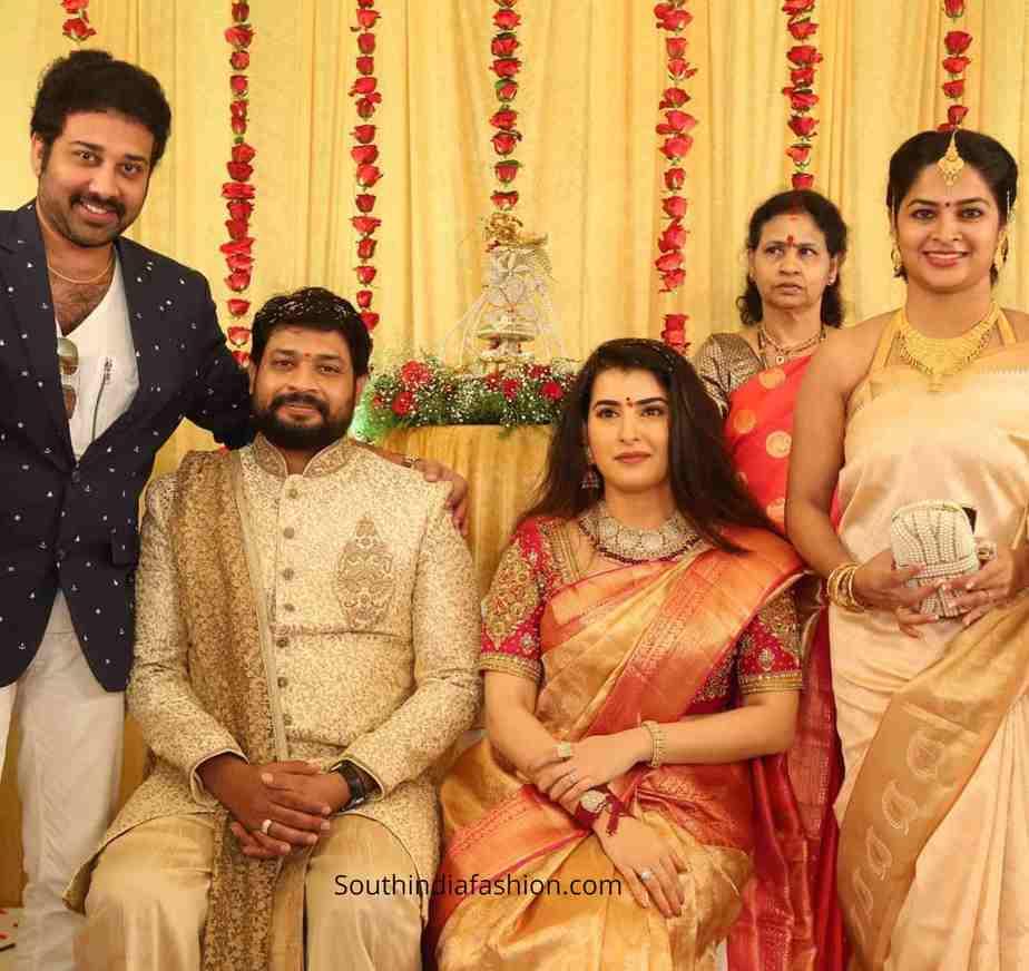 bigg boss archana jagadeesh engagement photos (1)
