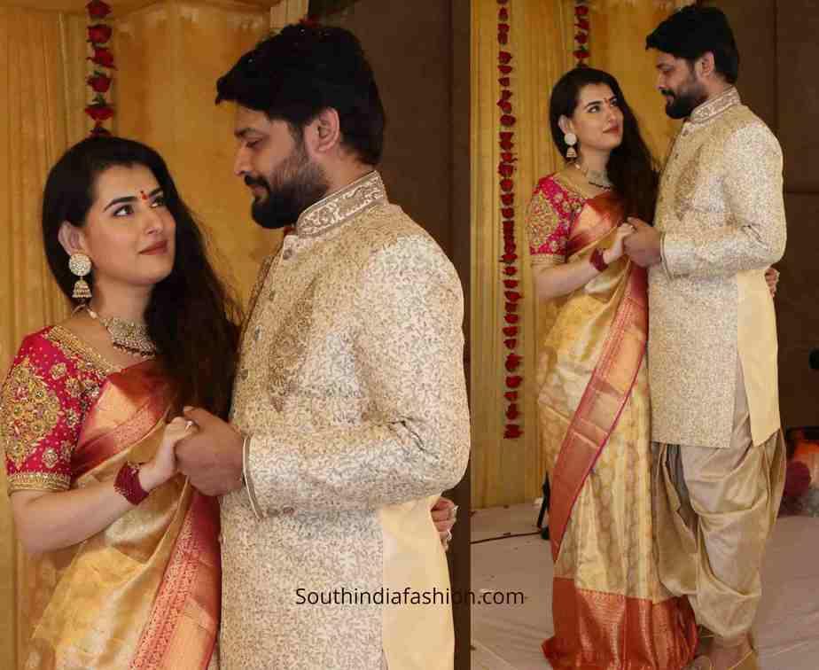 bigg boss archana jagadeesh engagement photos (2)