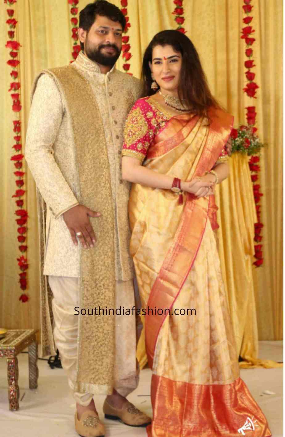 bigg boss archana jagadeesh engagement photos (4)