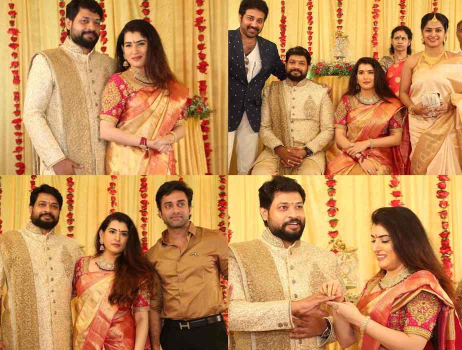 bigg boss archana jagadeesh engagement photos (5)
