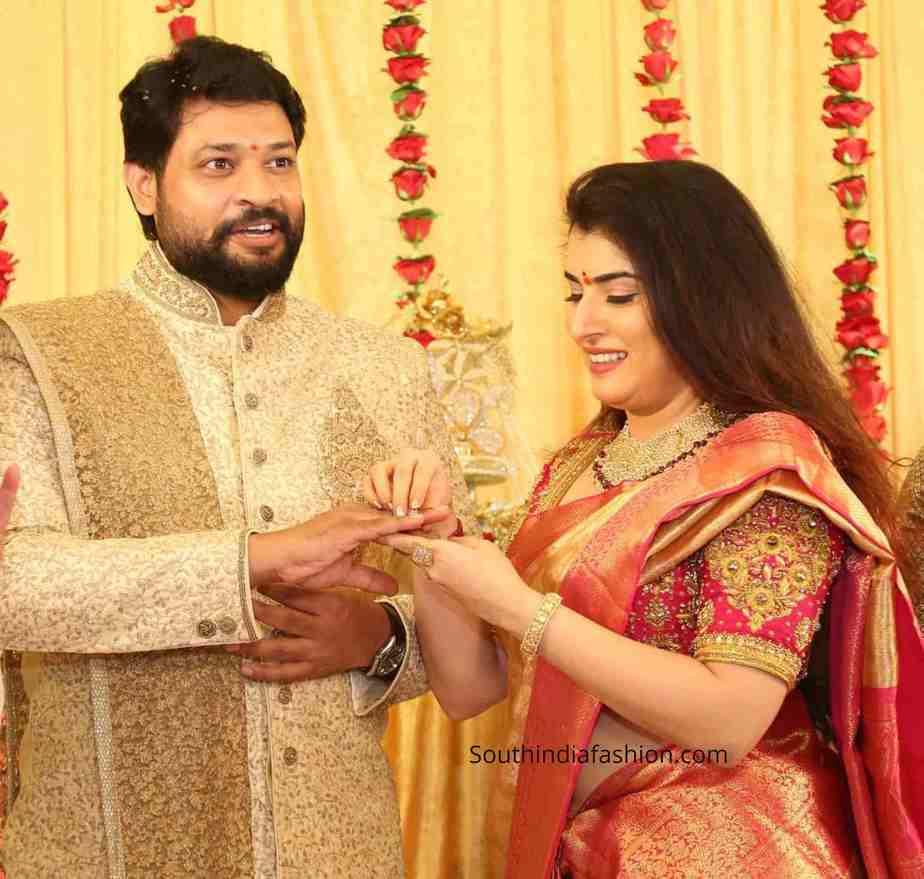 bigg boss archana jagadeesh engagement photos