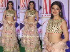 divya khosla kumar in asal by abusandeep lehenga