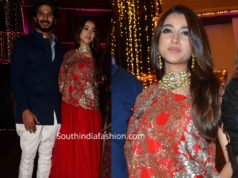 dulquer salman and his wife at bachchan diwali party