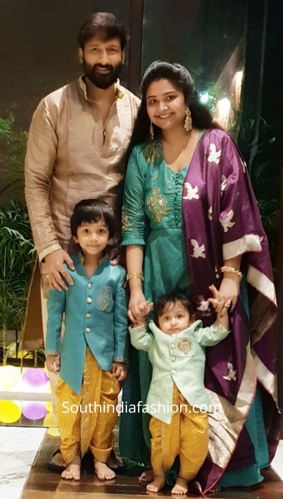gopichand family diwali pics (1)
