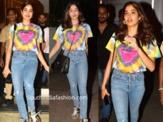 janhvi kapoor in western wear