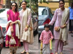 kareena karishma and taimur diwali celebrations