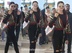 lakshmi manchu airport look