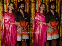 mira rajput and shahid kapoor at ekta kapoor diwali party