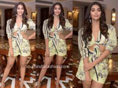 pooja hegde dress for housefull 4 promotions