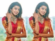 pranitha subhash pattu saree ss shopping mall launch banswada