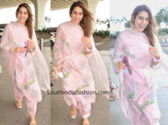 sara ali khan pink salwar kameez
