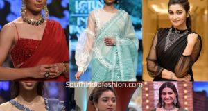 stylish and trendy latest saree blouse designs 2020