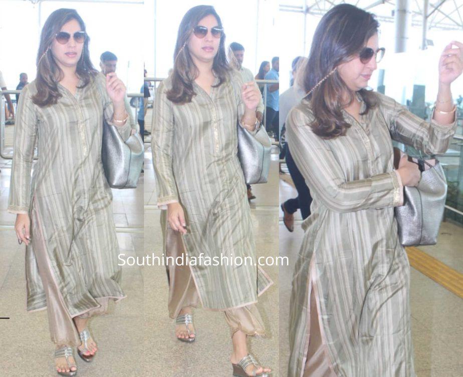 upasana konidela airport dress
