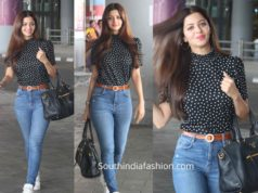 vadika snapped at hyderabad airport