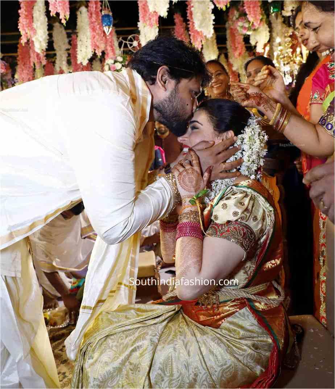 ARCHANA SHASTRY wedding saree jewellery (1)