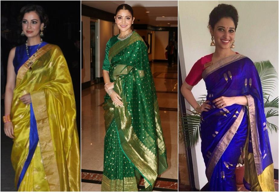 Chanderi sarees light in weight
