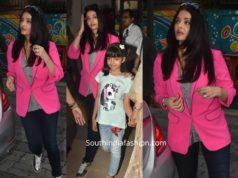 aishwarya rai bachchan pink blazer