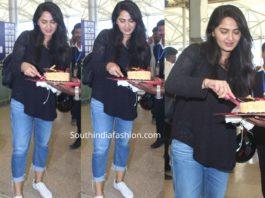 anushka shetty birthday airport (1)