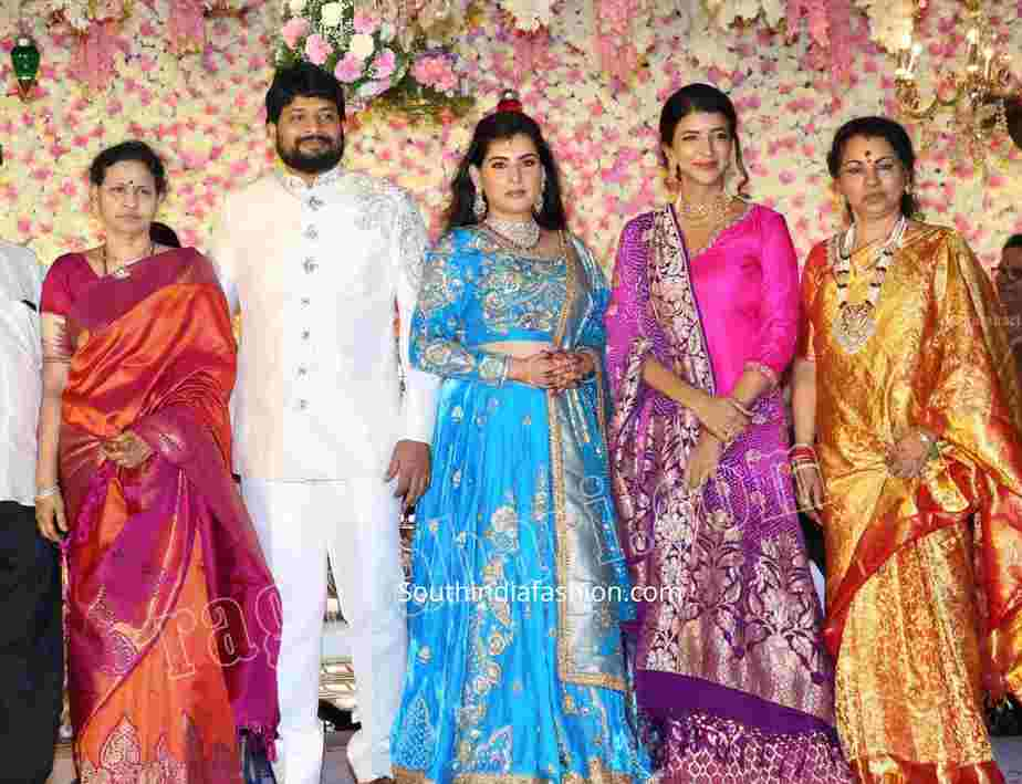 archana shastry jagadeesh wedding reception (5)