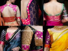 brocade blouse designs by house of blouse