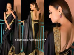 dia mirza black saree (1)