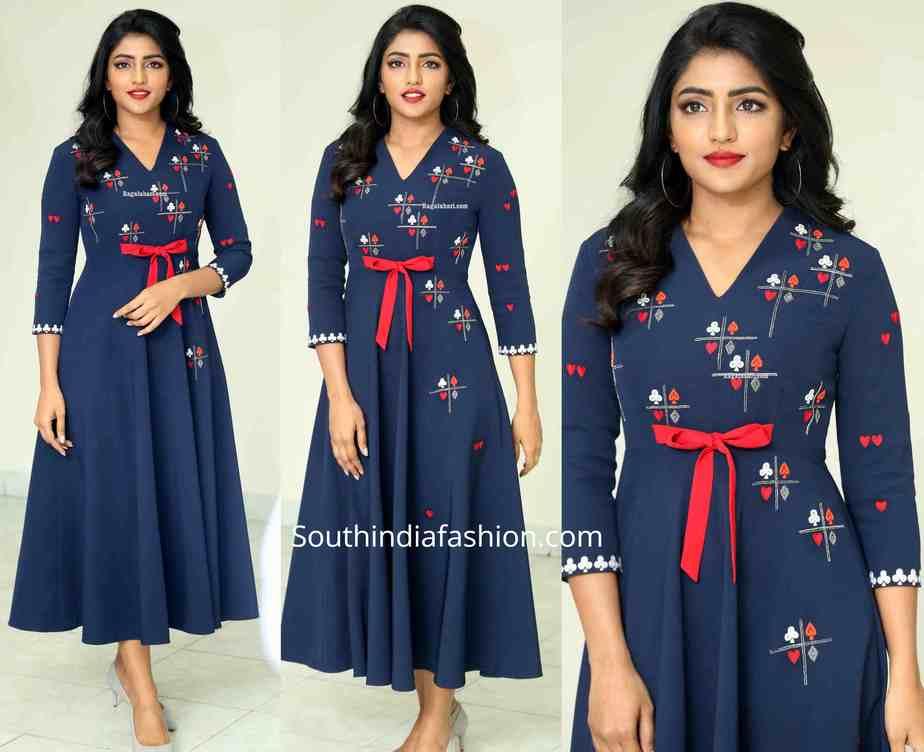 eesha rebba blue dress at raagala 24 gantallo promotions