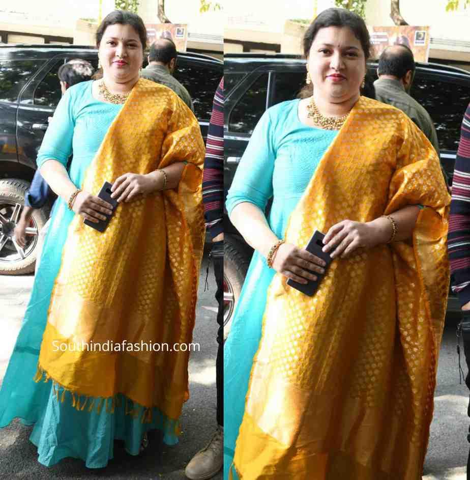 hero sudheer babu wife priyadarshini
