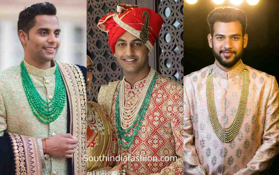 indian groom wedding jewellery