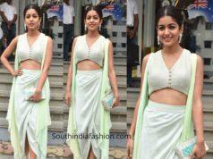 ishita dutta indo western dress at a store launch