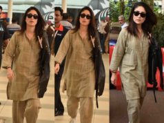 kareena kapoor airport look casual salwar suit