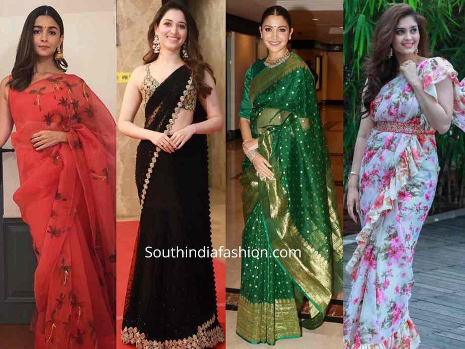 light weight sarees
