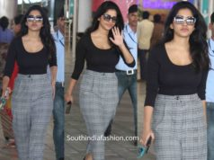 nabha natesh airport look (1)