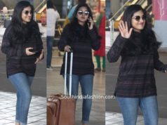 nivetha thomas airport look