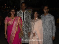 pinky reddy family at bachchan diwali party