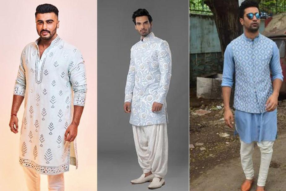 Colour trends for men-powder blue