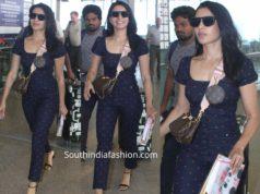 samantha akkkineni at hyderabad airport (1)