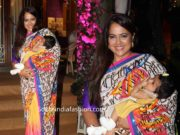 sameera reddy with daughter