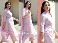 sara ali khan pink salwar kameez (1)
