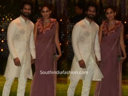 shahid kapoor and mira at ambani pre wedding party
