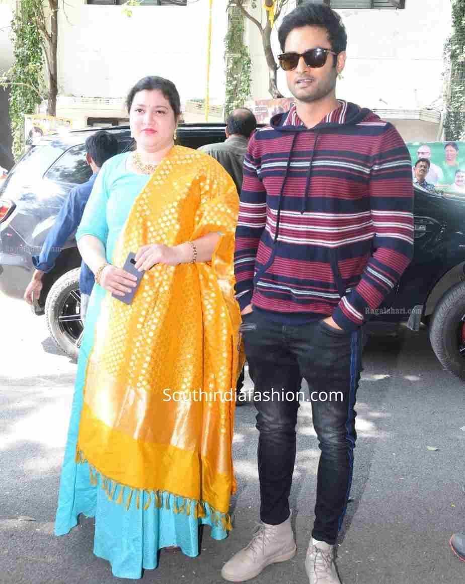 sudheer babu wife priyadarshini