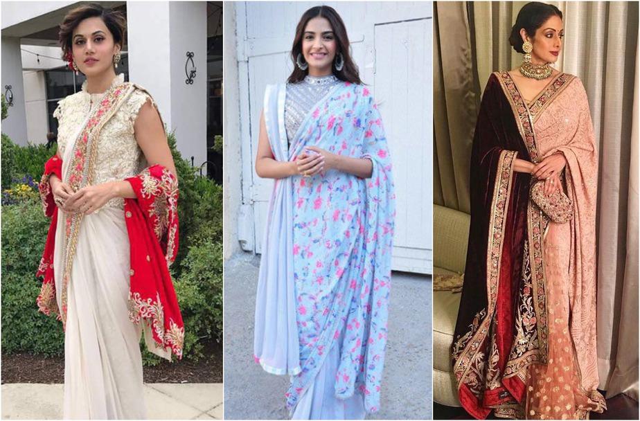 Double Pallu for Winter Fashion