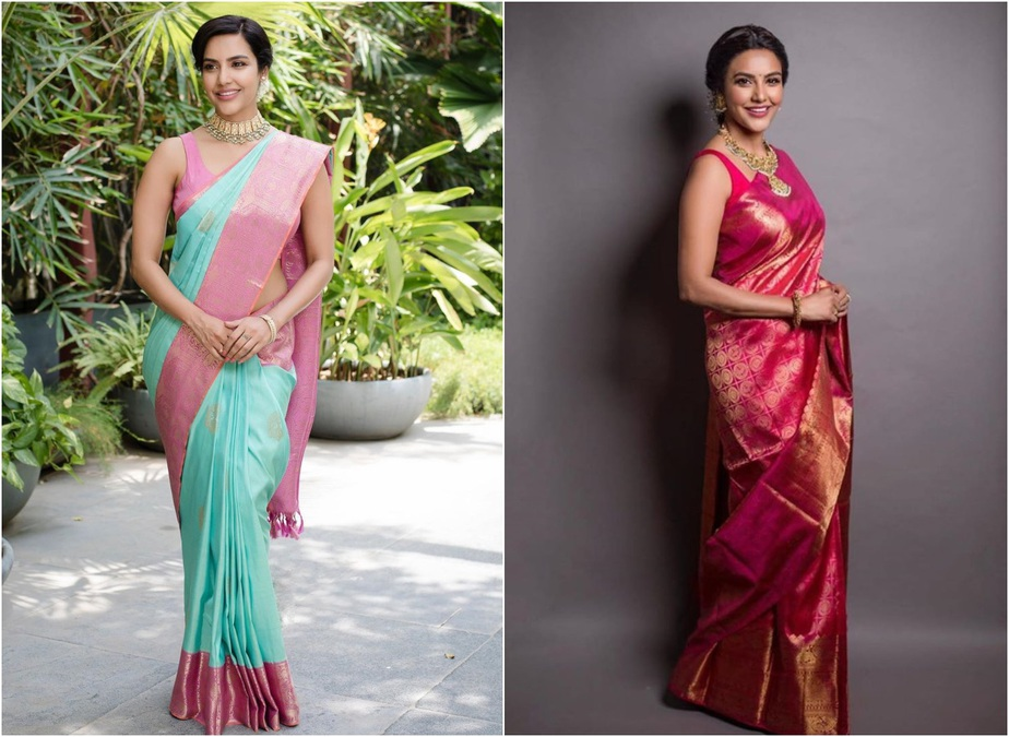 Priya Anand Silk Sari
