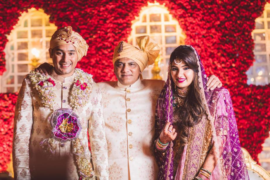 sania mirza sister anam mirza wedding, azharuddin son wedding