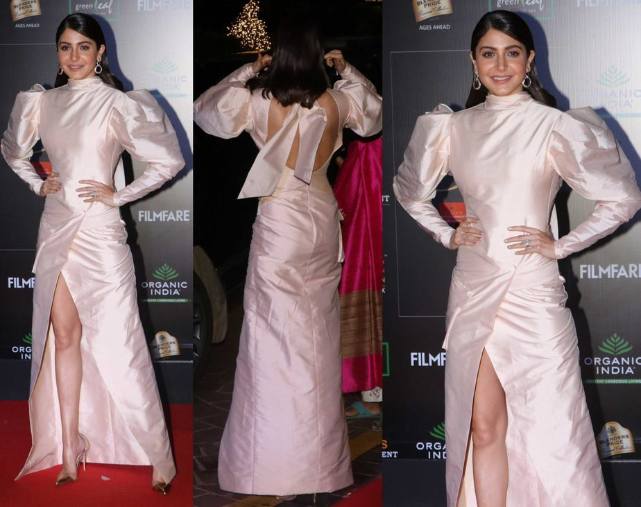 anushka sharma dress at filmfare glamour and style awards