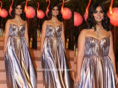 isha ambani gown at gyan project gala
