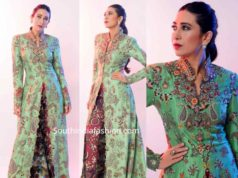 karisma kapoor in anamika khanna jacket and pants